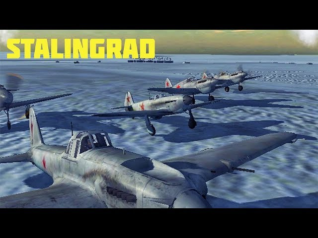 Wings of Duty - Il-2 Formation Destroys German Convoy at Stalingrad | NEW UPDATE