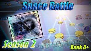 Roblox Robeats   Space Battle (Hard) FC Run Rank A+ 99.09%
