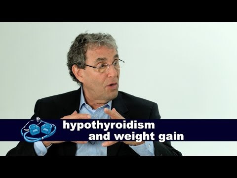 Hypothyroidism and gaining weight