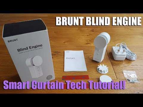 Make Your Existing Blinds Smart With the Brunt Blind Engine [Hands on Review and Test]