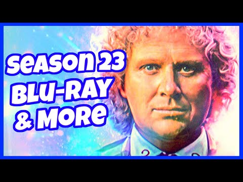 Surprise Unboxing From Australia! Doctor Who Season 23 Blu Ray & More!