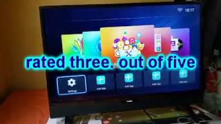 blackpoint elite smart tv built in soundbar 32 inch  review
