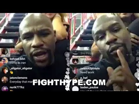 (WOW!) MAYWEATHER THREATENS DE LA HOYA WITH REMATCH BEATING; DISSES HIM FOR FISHNETS AND COKE USE