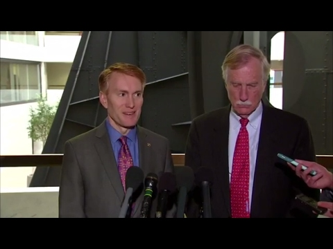 Sen. James Lankford and Sen. Angus S. King on Trump Russia Ties
