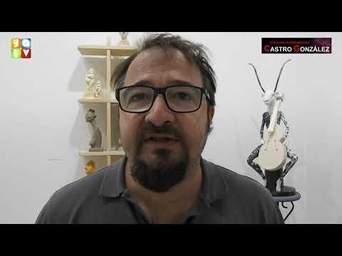 El artista algecireño Javier Antolín expone su obra en el Museo Cruz Herrera