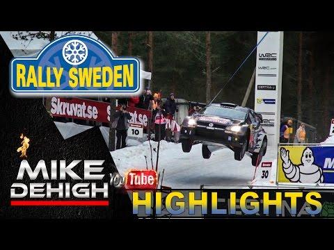 WRC Rally Sweden 2015 HIGHLIGHTS Jumps (Colins Crest), Crash & HOT MOMENTS HD
