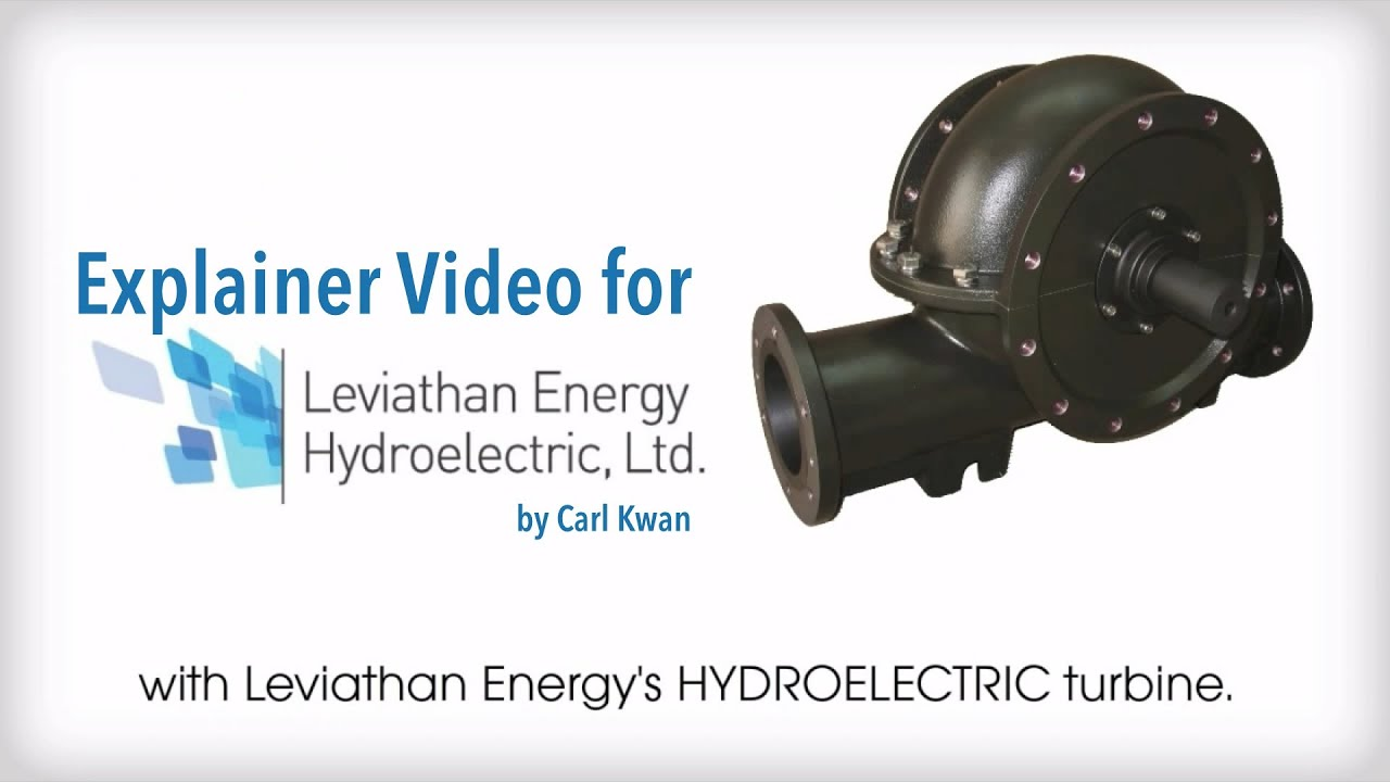 Explainer Video for Leviathan Energy Hydroelectric Turbine