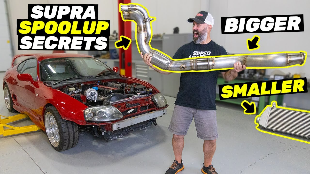 Building A Supra The Unconventional Way