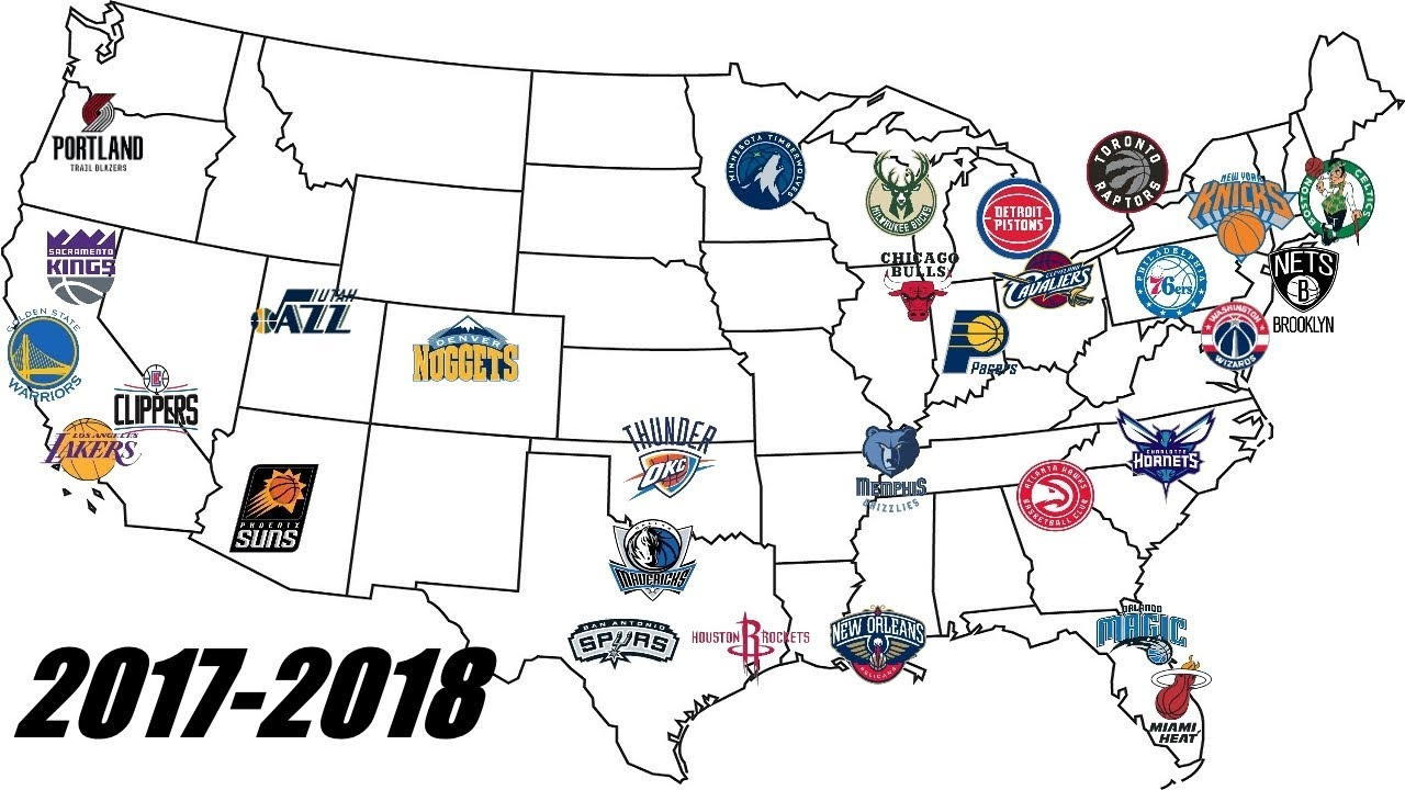 Nba Team Logos Through The Years 1949 2018 70 Years Of Nba History