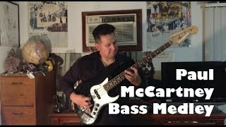31 Paul McCartney bass lines in 1 live take