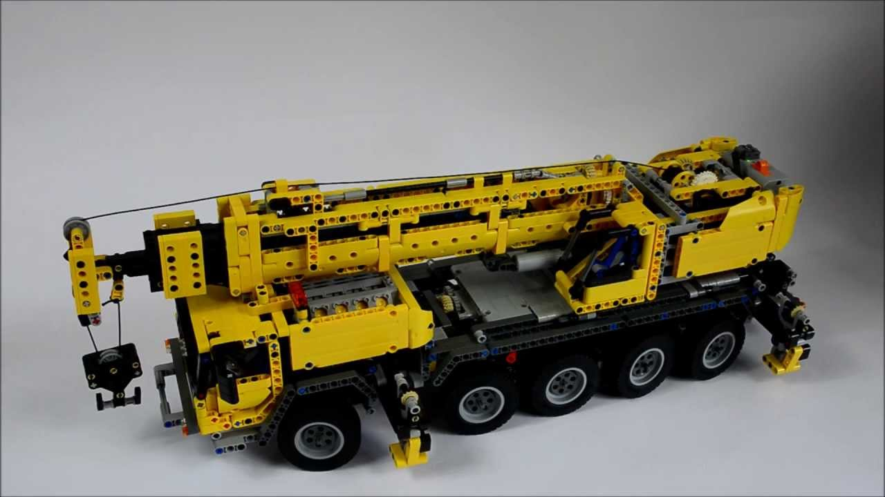 video di lego technic telecomandati