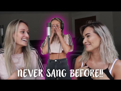 NON-SINGER TRIES SINGING A COVER! | Talia Mar w/ Freya Nightingale