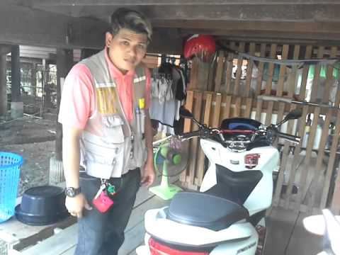 PCX150i คุณฝน ฝน มอไซต์รับจ้าง Run Alarm (ร้านรันอลาม)