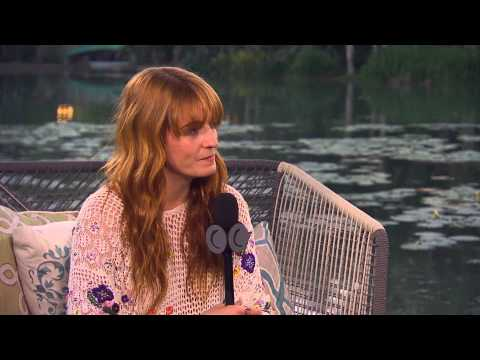 Florence Welch Coachella 2015 Interview + Music Video Clip