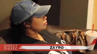 Zayro (@zayro11) Performs at Direct 2 Exec Atlanta 9/9/18 - Atlantic Records