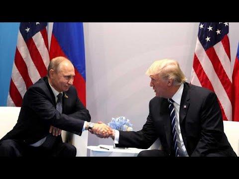 Democratas questionam encontro entre Trump e Putin
