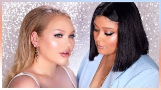 RIHANNA\'S MAKEUP ARTIST DOES MY MAKEUP! | ft. Priscilla Ono