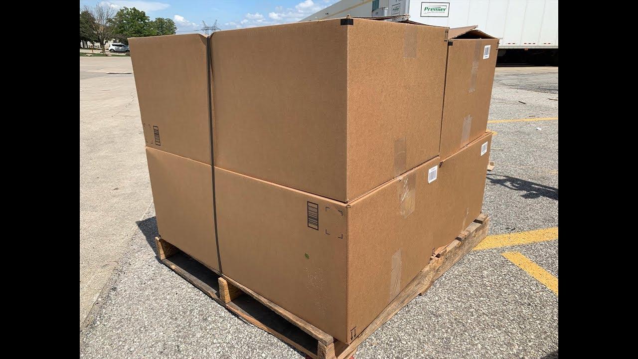 I bought a 300 Pound Amazon Customer Return Pallet