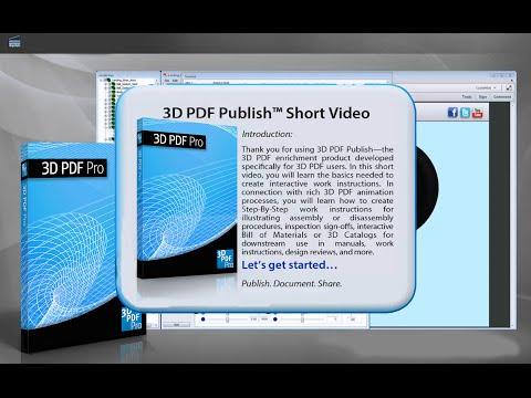 3D PDF Pro How To Publish