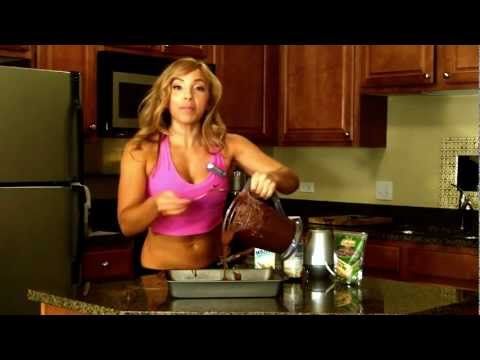 FAT-LOSS BROWNIES! SLOW CARB, Bodybuilding, Gluten Free!