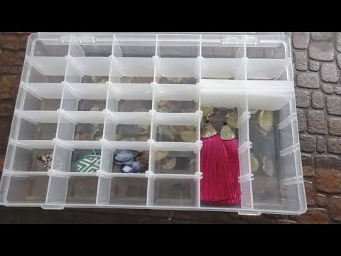 Plastic Adjustable Multipurpose Storage Organizer Box - UNBOXING + REVIEW!