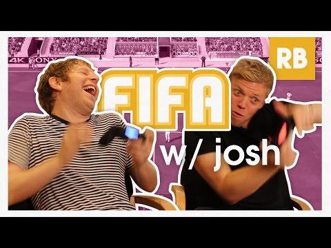 I'm Older Than YouTube?! FIFA with Josh Widdicombe