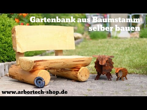 Wooden Garden Bench Build Yourself With Arbortech Turboplane
