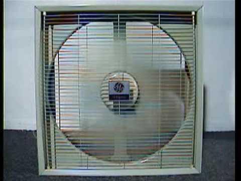 Vintage Ge Box Fan Youtube