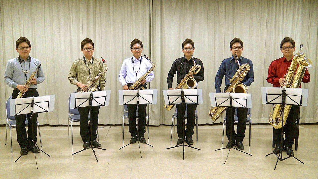 L'Arlésienne PV Yukihiro Maeda, Mi Bémol Saxophone Ensemble