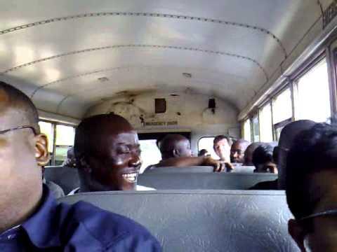 Bus to Cabinda
