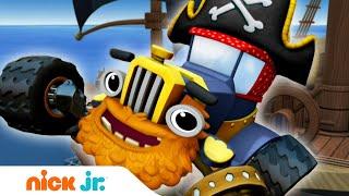 Вспыш и чудо-машинки   Пираты атакуют! ⚓️   Nick Jr. Россия