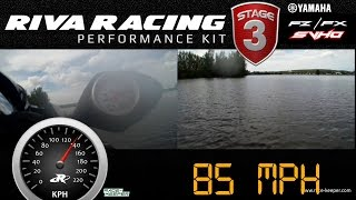 RIVA Yamaha FZ/FX Stage 3 Kit Testing