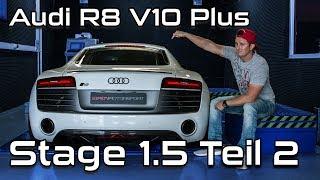 Audi R8 V10 Plus Leistungssteigerung  |  Stage 1.5 Teil 2 Ausgangsmessung | SimonMotorSport | #287