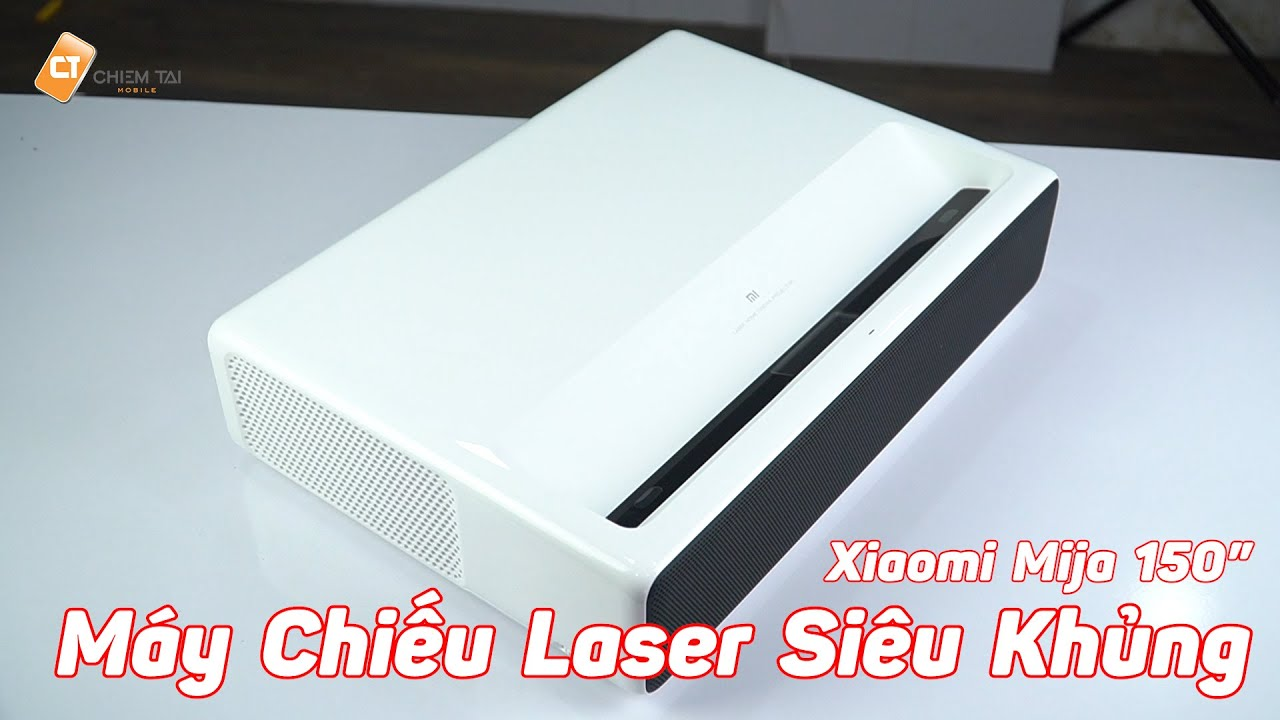 Bê Rạp Phim Về Nhà Với Máy Chiếu Laser Xiaomi Mijia 150inch – Qúa Đỉnh!!