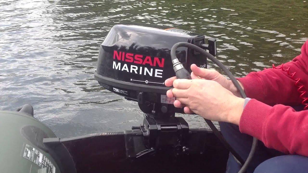 лодочный матор nissan marinе 6