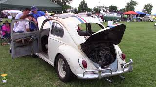 """Herbie #10 from """"The Love Bug"""" at Funfest for Air-Cooled VW 2018"""