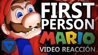 FIRST PERSON MARIO ANIMACIÓN EPICA | VIDEO-REACCIÓN BERSGAMER