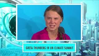 Greta Thunberg speak about Climate Change | 9XM Newsic | Bade Chote