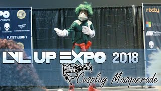 Lvl Up Expo 2018 :: Cosplay Masquerade