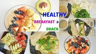 Get Healthy With Me | Breakfast & Snack Ideas | Andrea Jueong