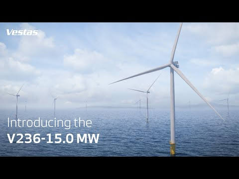 World's largest & most powerful offshore wind turbine | V236-15.0 MW | Vestas