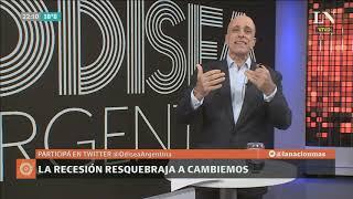 Carlos Pagni: La recesión resquebraja a Cambiemos - Odisea Argentina