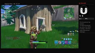 FORTNITE GETING A WIN
