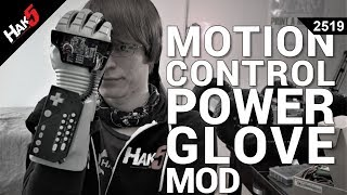 Hacking the PowerGlove with Motion Control - Glytch on Hak5 2519