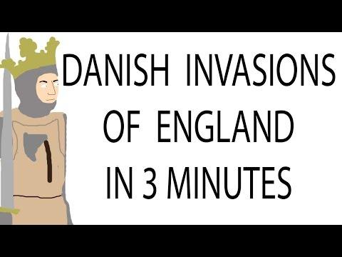 Danish Invasions Of England | 3 Minute History