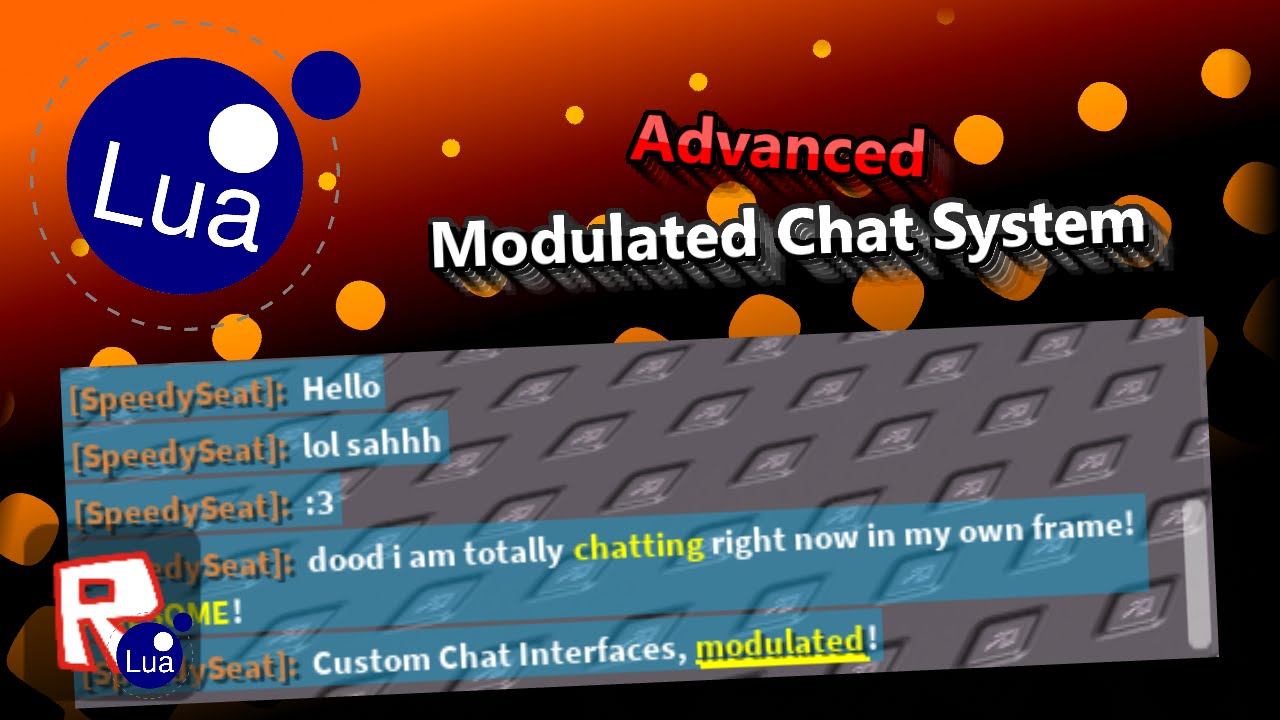 Fully Modulated Advanced Roblox Custom Chat System Tutorial Youtube