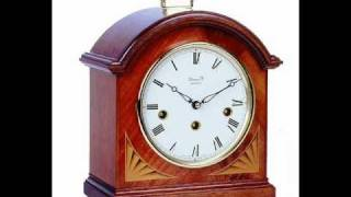 Table Top Mantle Clock - Regency Break Arch By Comitti Of London