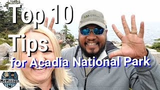 MAINE CAMPING - TOP 10 TIPS for RV LIVING in Acadia National Park