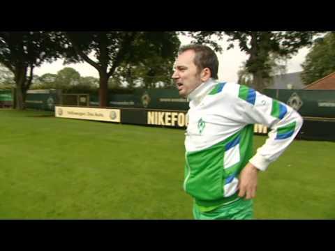 Werder Bremen Trainer Thomas Schaaf macht Arnd Zeigler die Hölle heiß I ZwWdF