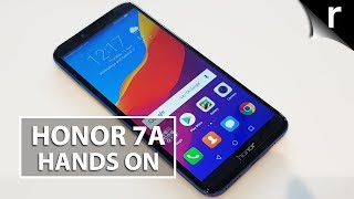 Honor 7A Hands-on Review: Face unlock for under £140!